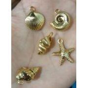Kit Dourado Fundo do Mar(5 peças)