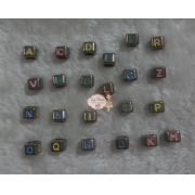Letra D colorida