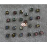 Letra P colorida