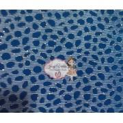 Lonita Azul com bolas Tam 24x40