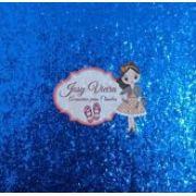 Lonita Azul Flocada Tam 24x40