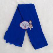 Meia de Seda Azul Royal (Unidade)