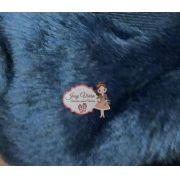 Pelúcia Azul Marinho 1,60x50cm