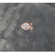 Pelúcia CINZA 1,60x50cm