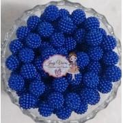 Pérola CRAQUELADA 500g Tam 10 Azul Escuro