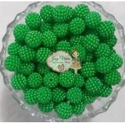 Pérola CRAQUELADA 500g Tam 12 Verde