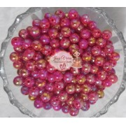 Pérola Irisada Pink 8mm 100g