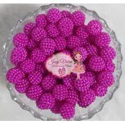 Pérolas ABS CRAQUELADAS TAM 10 Pink 100g