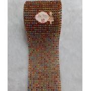 Rolinho de Manta Dourada com Colorido (1,20x6cm)