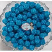 T10- Pérolas ABS CRAQUELADAS TAM 10 Cor Azul Médio 100g