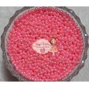 T4 Pérola ABS Tam 4 cor Rosa  CINTILANTE100g