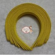 Tiara Amarela 30mm  (Unidade)