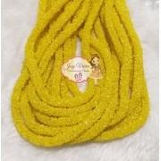 Tubo de PVC com ABS  Amarelo(1metro e 20cm)