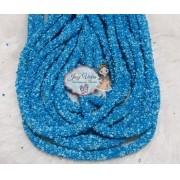 Tubo de PVC Com ABS Azul  bebê(1metro e 20cm)