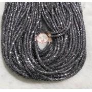 Tubo de PVC com  Glitter Chumbo (1metro e 20cm)