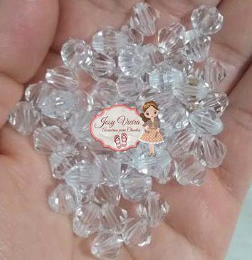 Balãozinho Passante 6 mm CRISTAL 100g