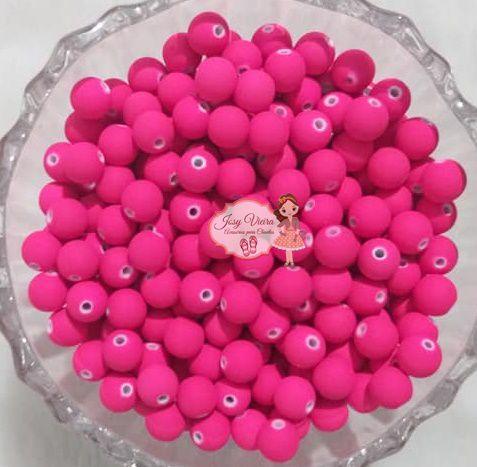 Bola emborrachada 8mm Pink 100g