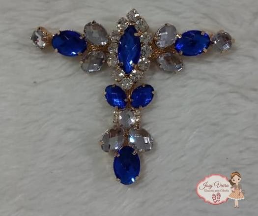 Cabedal Azul para freedom (Par)
