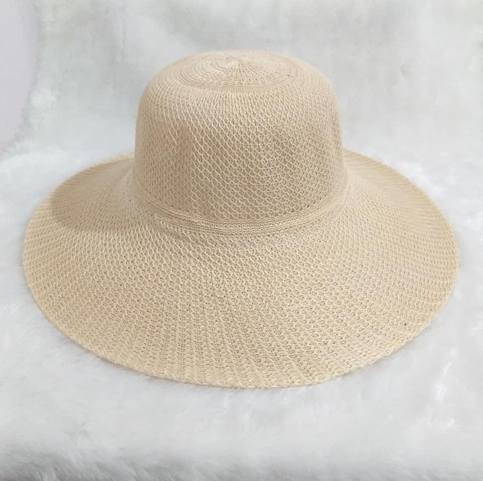Chapéu Grande Marrom Clar