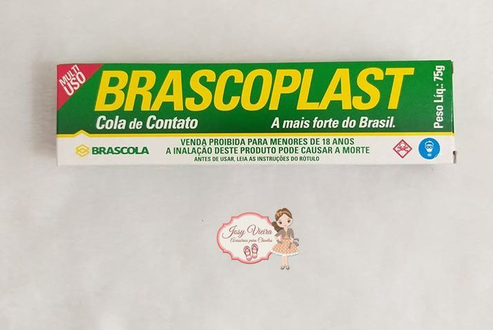 Cola Brascoplast 75g