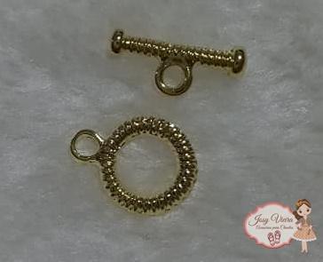 Conjunto Fecho dourado para pulseira Infantil
