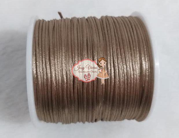 Cordão de Cetim ROSE GOLD ESCURO 298 1mm 100 metros
