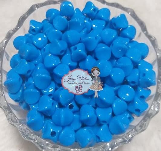 Entremeio passante Irregular Azul 100g