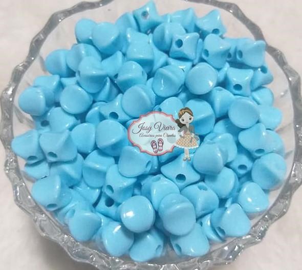 Entremeio passante Irregular Azul bebê 100g
