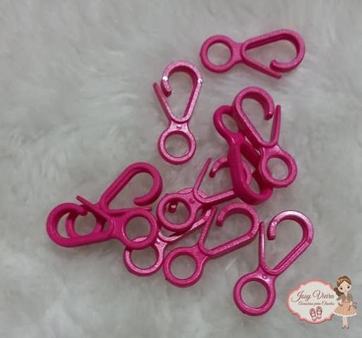 Fecho de plástico Pink (10 unidades)