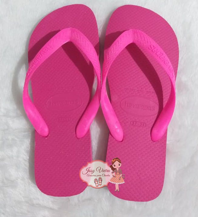 Havaiana TOP Rosa Flux 33/34
