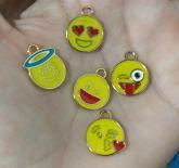 Kit Dourado Emoticons (5 peças)