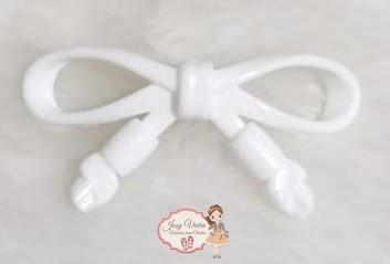 Laço ABS Branco (Par)