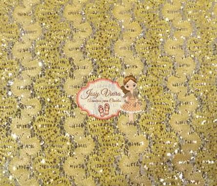 Lonita Rendada Dourada 24x40
