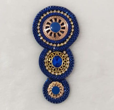 Mandala Azul(Par)