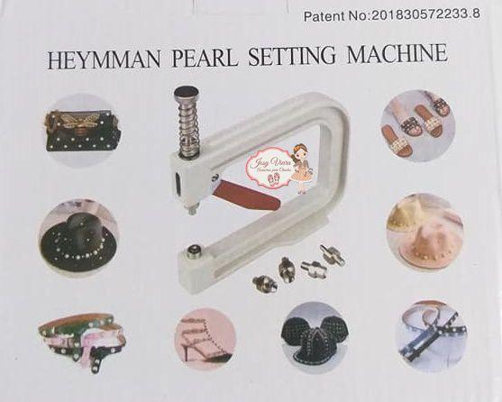 Maquina de Pérolas com 5 Matrizes para pérolas 4,6,8,10,12