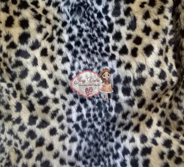 Pelúcia  Estampa Animal 2 com 1,60x50cm