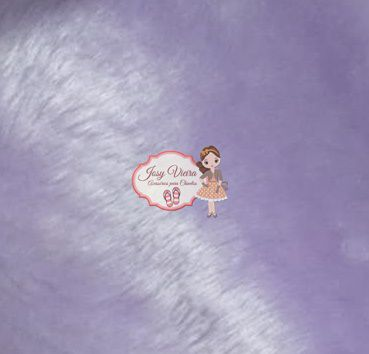 Pelúcia Lilás 1,60x50cm