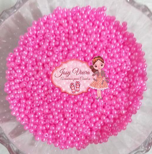 Pérola ABS Tam 6 Rosa Bebê 100g
