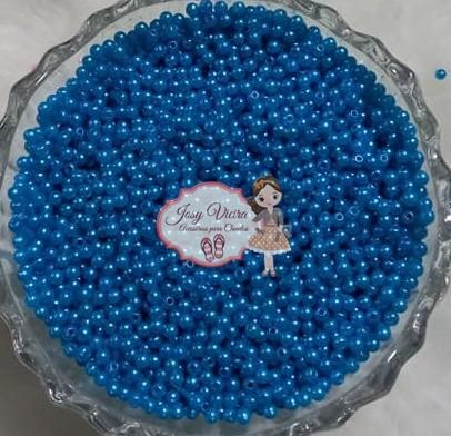 Pérola Tam 3 Azul Médio 500g