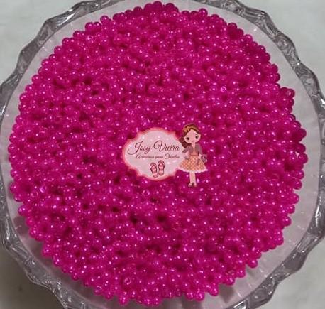 Pérola Tam 3 Rosa pink 500g
