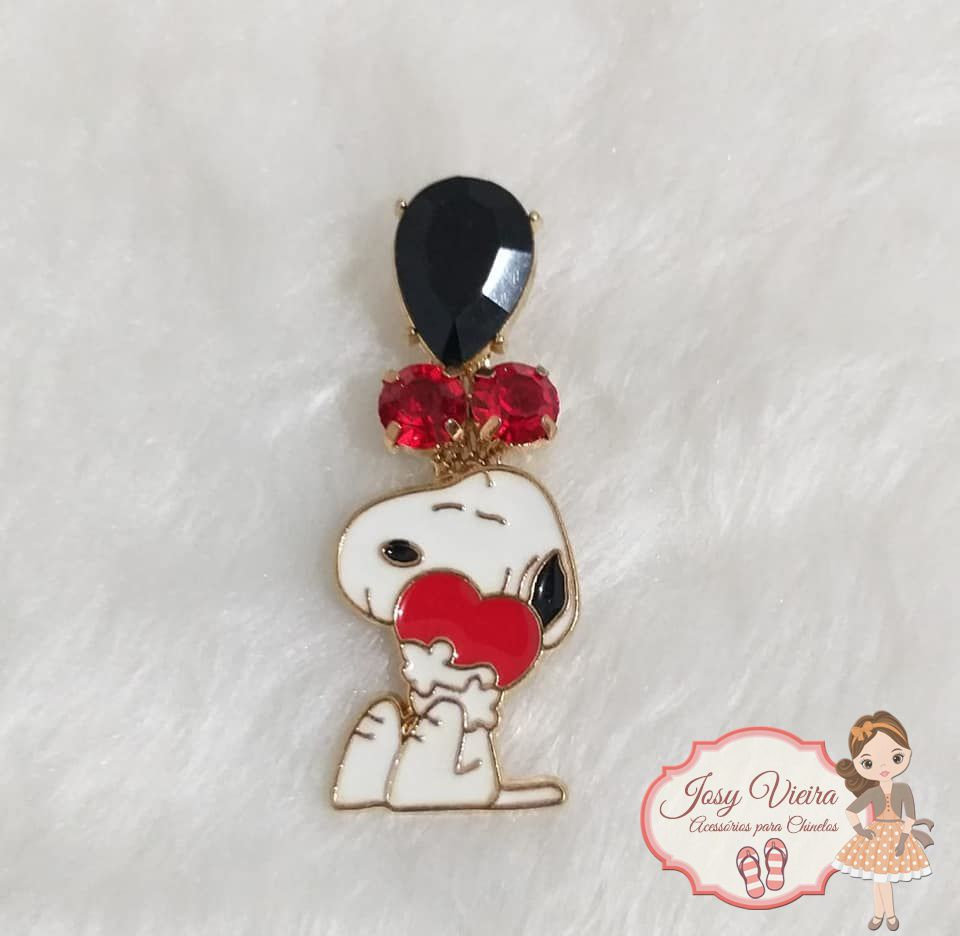 Piercing de Metal Snoopy(Par)