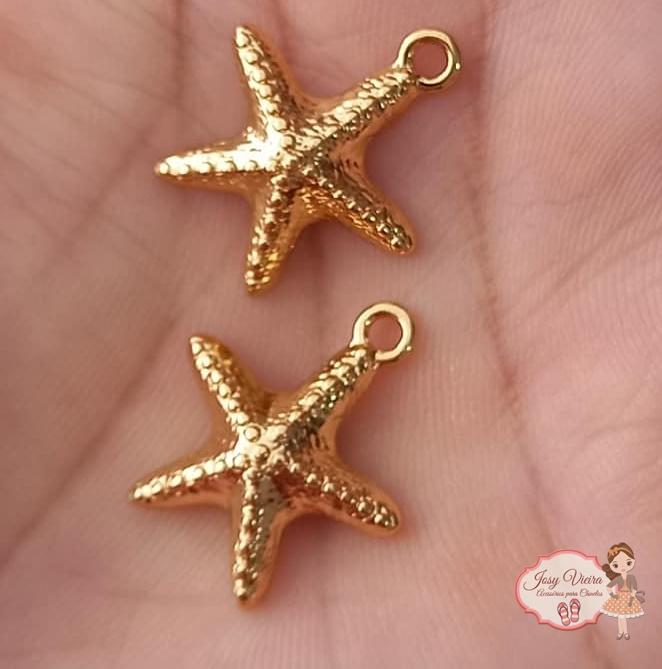 Pingente estrela do mar (1 unidade)