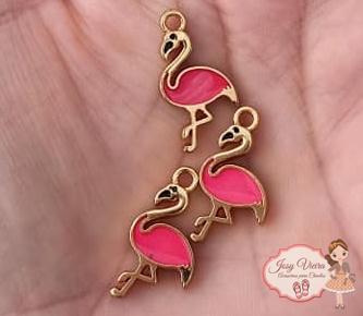 Pingente Flamingo (1 Unidade)