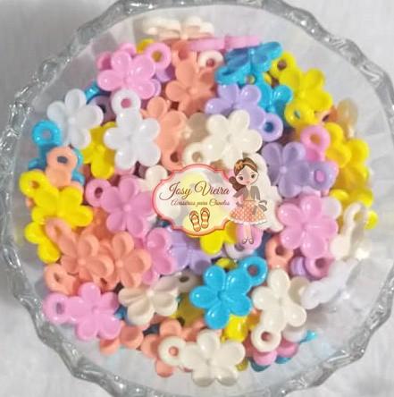 Pingente Flor lisa 13.3x19mm 100g