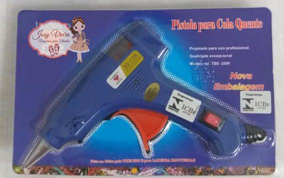 Pistola para Cola Quente Bivolt 20w