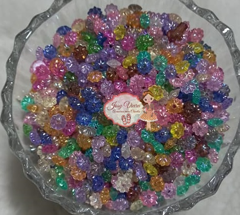 Pitanga Irisada 3x6 colorida 100g