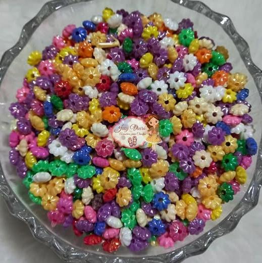 Pitanga leitosa irisada 3x6 colorido escuro 100g