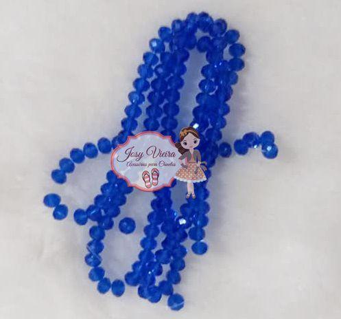 T4 Cristais Cor Azul Tam 4 (apx 100 unidades)