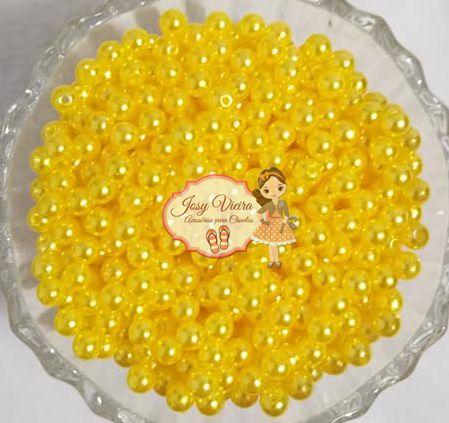 T4 Pérola ABS Tam 4 cor Amarelo  100g