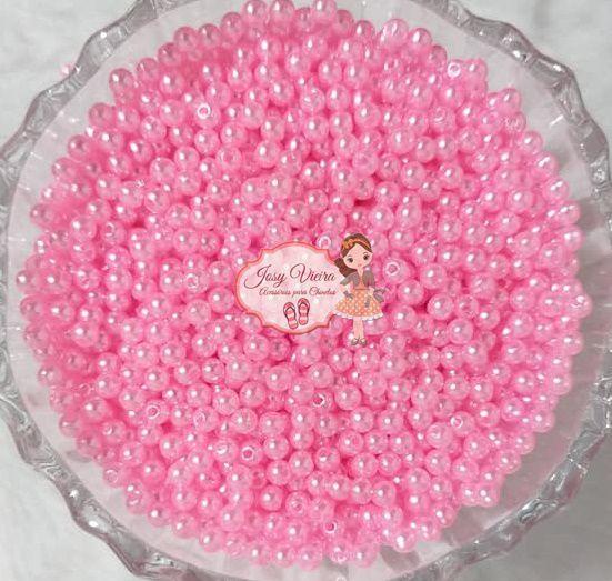 T4 Pérola ABS Tam 4 cor Rosa Bebê 100g